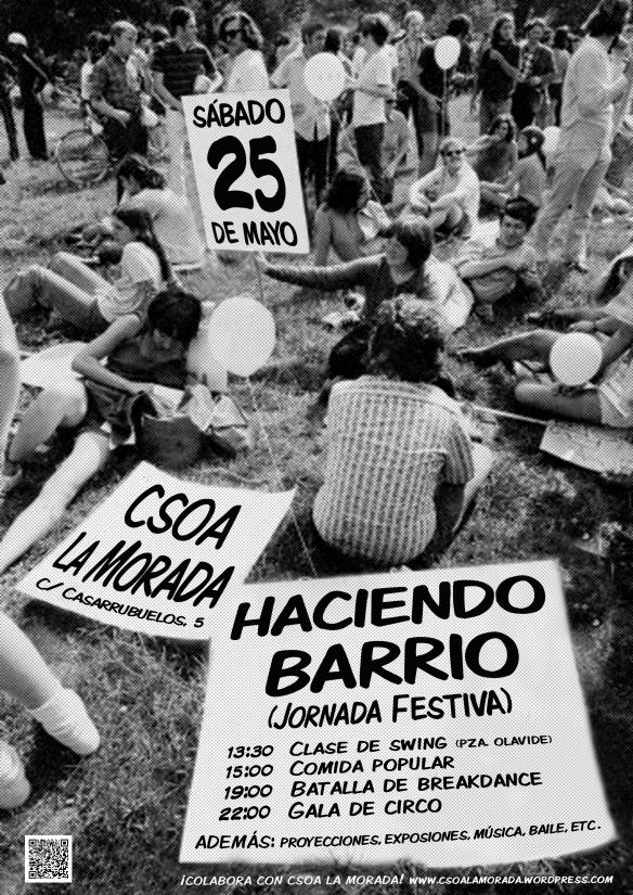 Cartel Fiesta 25 mayo